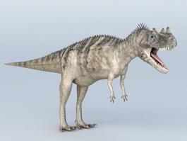 Ceratosaurus Dinosaur 3d model preview