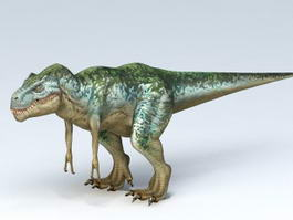 T-Rex Dinosaur 3d model preview