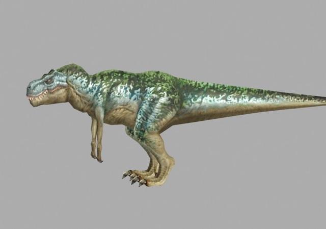 T-Rex Dinosaur 3d rendering