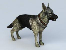 German Shepherd Dog 3d preview