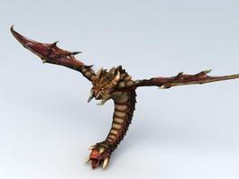 StarCraft Zerg Mutalisk 3d model preview