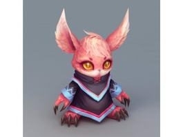 Anime Mouse Spirit 3d preview