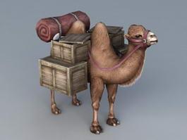 Desert Travel Camel 3d preview