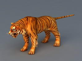 South China Tiger 3d model preview