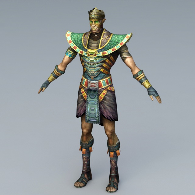 Mummy Soldier 3d rendering