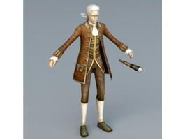 18th Century Navigator 3d preview