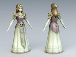 Elven Princess 3d preview