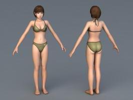 Korin Bikini 3d preview