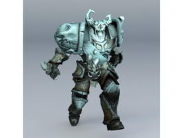Demon Golem 3d preview