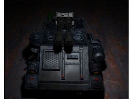 Future Armored Combat Vehicle 3d preview