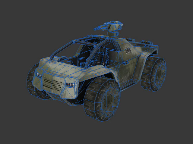 Battlefield 2142 Vehicle 3d rendering
