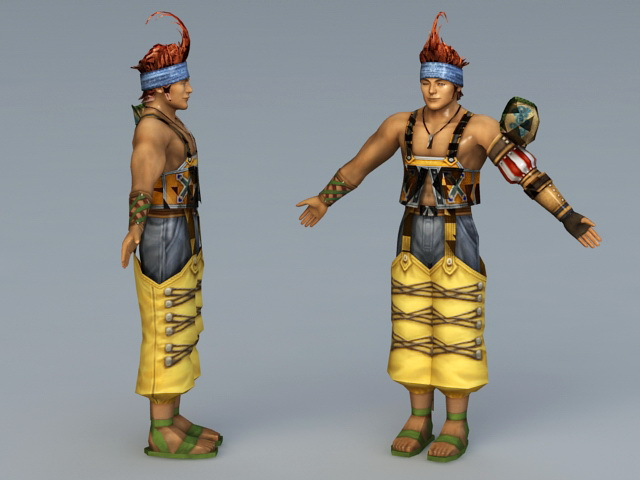 Oerba Dia Vanille character 3d model 3ds Max,Object files