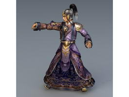 Qing Dynasty Politician 3d preview