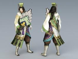 Three Kingdoms Zhuge Liang 3d preview
