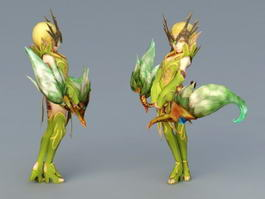 Dragon Nest Elf Princess Nerwin 3d preview