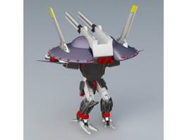 Gundam Seed Destiny Destroy 3d model preview