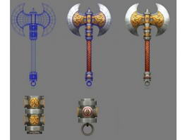One-Handed Axe 3d preview