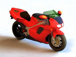 Honda NR750 Motorcycle 3d preview