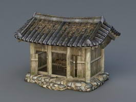 Medieval Cottage 3d preview