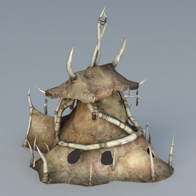 ORC Tent 3d rendering