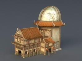 Medieval Inn Tavern 3d model preview