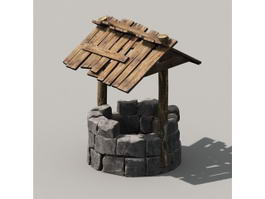 Old Water Well 3d preview