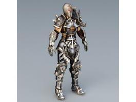 Berserker Warrior Concept 3d model preview