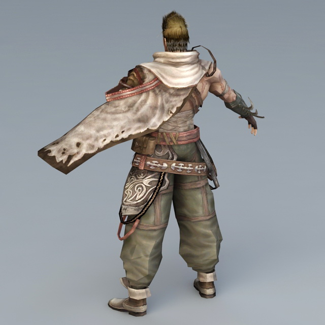 Medieval Mercenary Concept 3d rendering