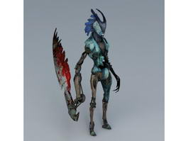 Devil May Cry Stygian 3d model preview
