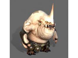Ogre Monster 3d model preview