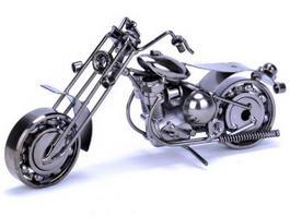 Metal Art Motorcycle 3d preview