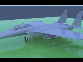 F-15 Eagle Fighter 3d model preview
