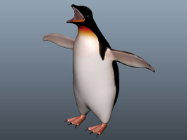 King Penguin 3d preview