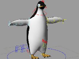 Adelie Penguin 3d preview