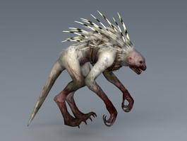 Rage Beast 3d model preview