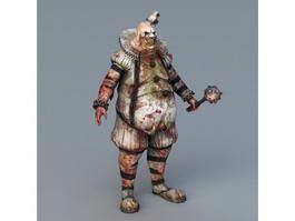 Killing Floor Zombie Bloat 3d model preview