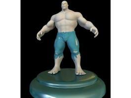 Hulk Figure 3d preview