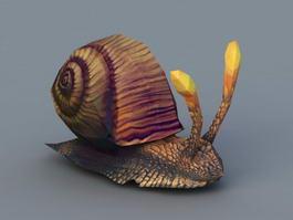 Big Snail 3d preview