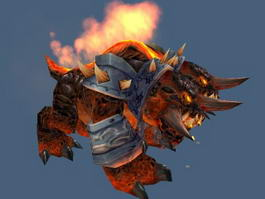 Warcraft Core Hound 3d preview