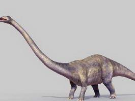Diplodocus Dinosaur 3d model preview
