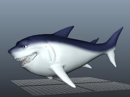 Big Fat Shark 3d preview