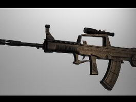 Type 95 Automatic Rifle 3d model preview