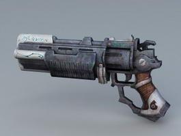 Sci Fi Pistol 3d preview