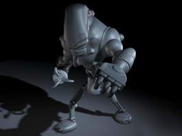 Evil Robot 3d model preview