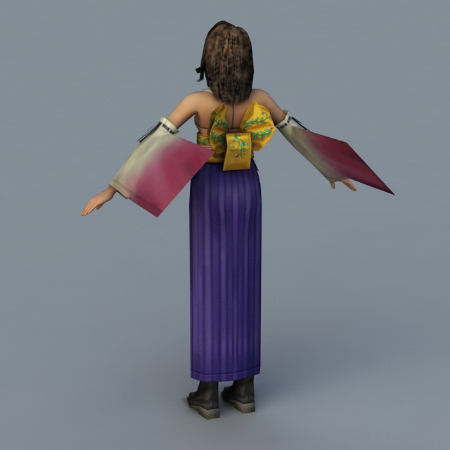 Final Fantasy Seeq 3d model 3ds Max files free download
