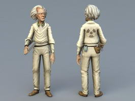 Old Man Doctor 3d preview