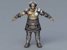 Armor Warrior Rig 3d preview