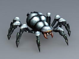 Animated Spider Monster 3d preview