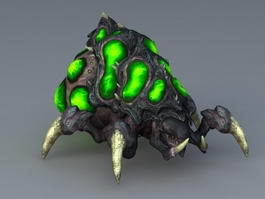 StarCraft Baneling 3d preview