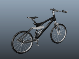 BMX Freestyle Bike 3d preview